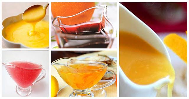 сладкие соусы из фруктовых соков