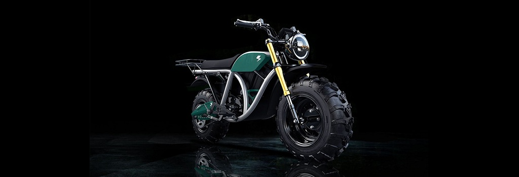 All-Electric motorcycle for kids - aptly named - The Runt