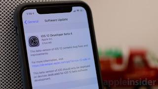 آبل تطلق الإصدار التجريبي الثالث من iOS 12 لجميع المستخدمين