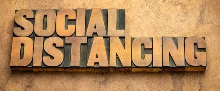 Social Distancing di Indonesia