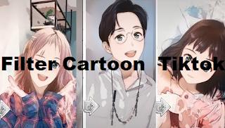 Cartoon filter tiktok || Cara dapatkan Filter cartoon Princess tiktok