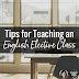 Tips for Teaching an English Elective Class