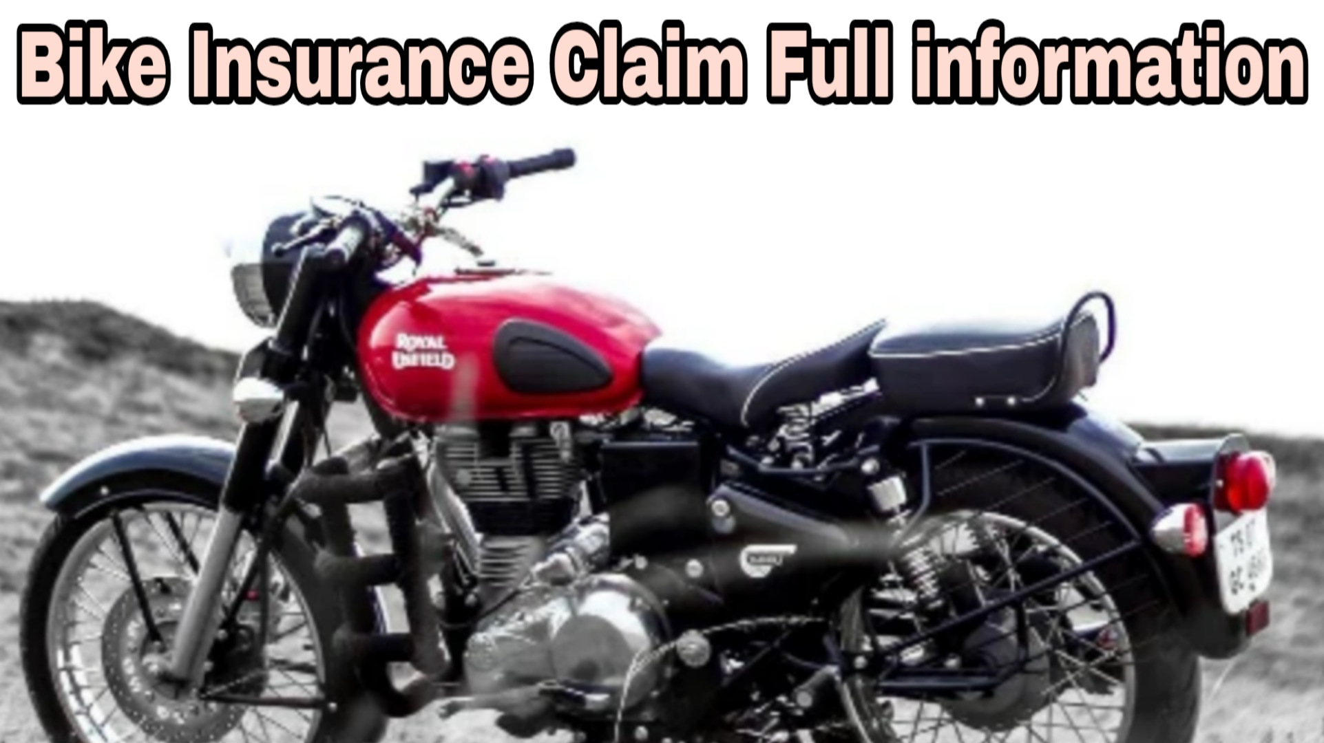 Motorcycle Insurance Claim full Information In Hindi 2020 ...