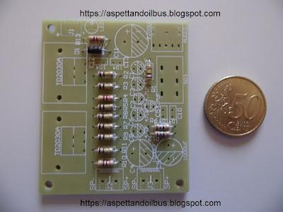 Fig. 5 - I resistori montati - foto di Paolo Luongo