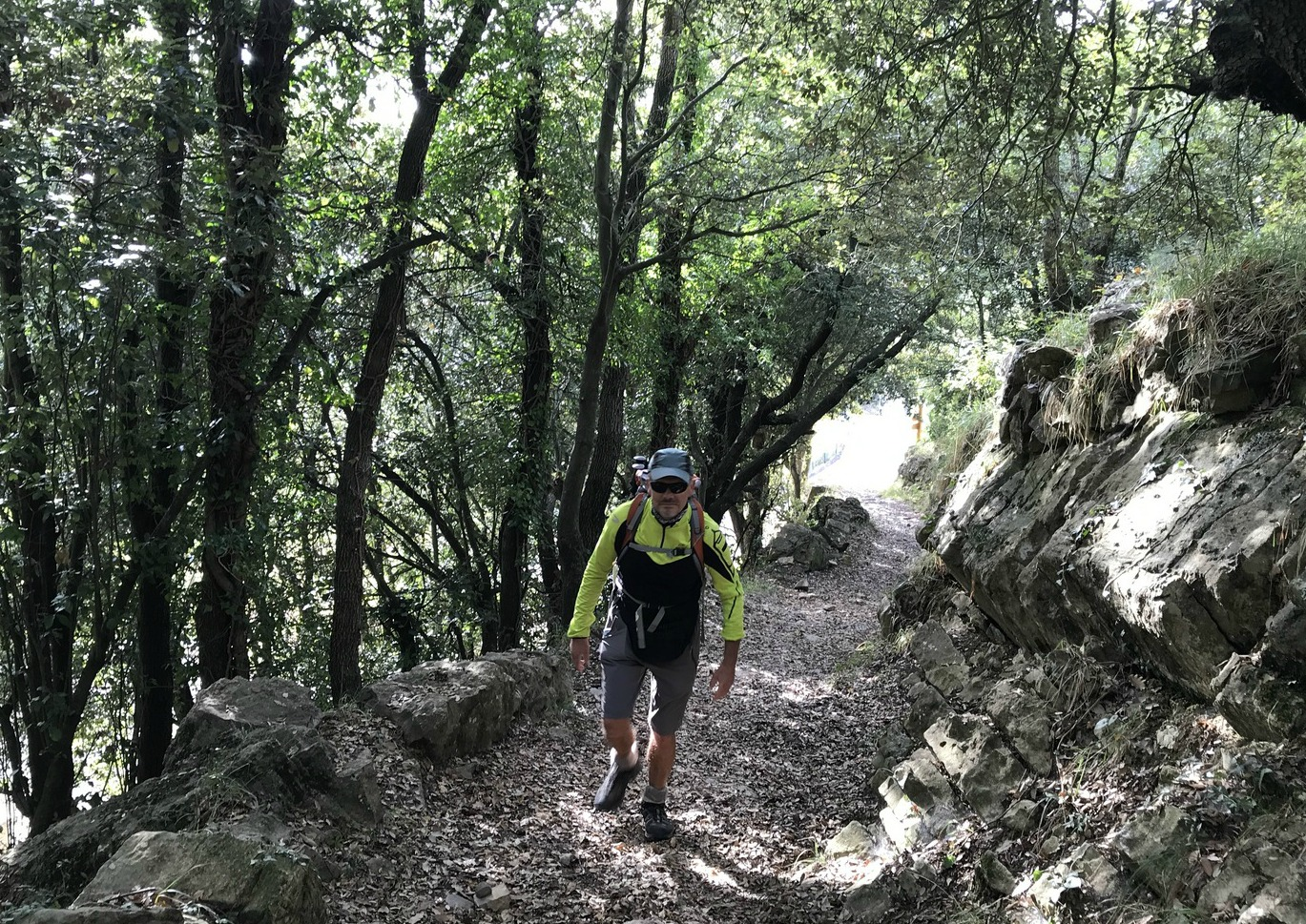 Trail above Col de Castillon