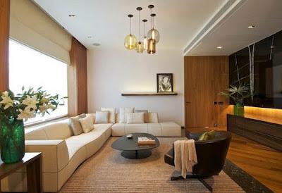 Menata Tata letak Lampu Ruangan Rumah Minimalis