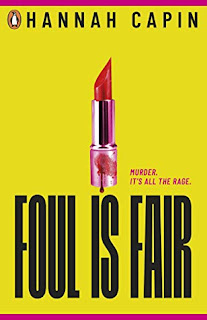 Foul is Fair by Hannah Capin UK cover