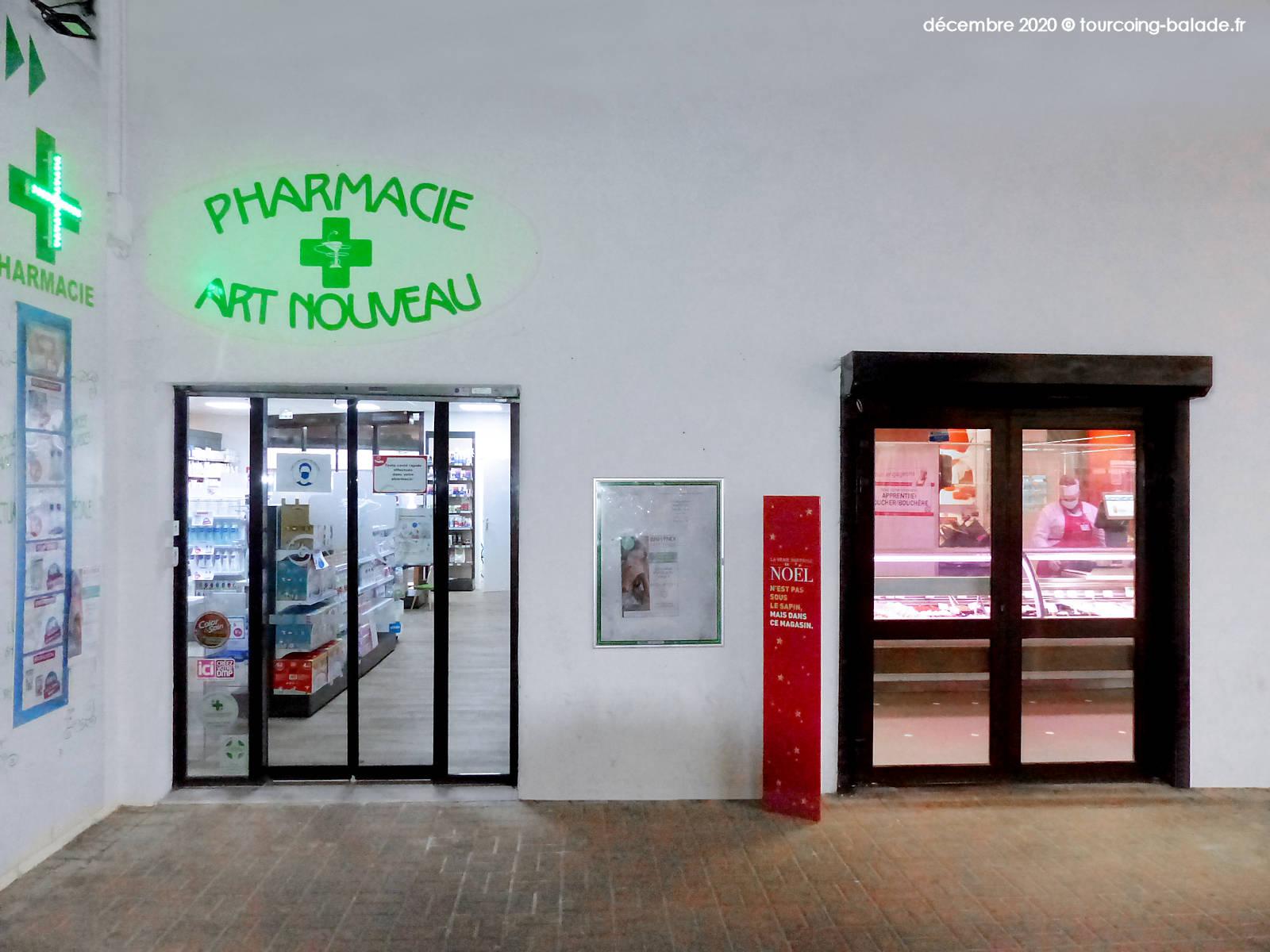 Pharmacie Art Nouveau, Tourcoing 2020
