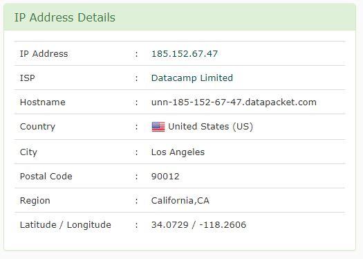 اضافة في بي ان الولايات المتحدة لجوجل كروم - امريكا Astar VPN