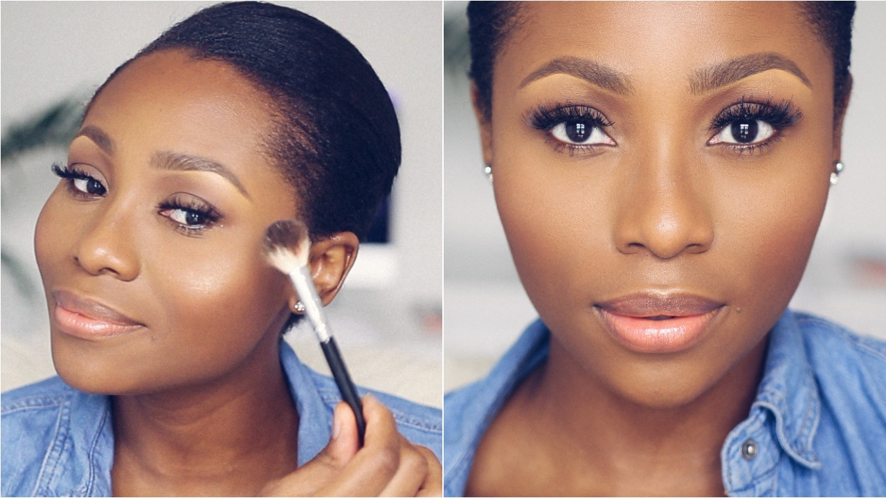 Easy back to schoolwork makeup tutorial dimma umeh nigerian easy everyday schoolwork makeup tutorial dimma umeh baditri Gallery