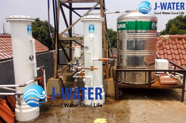 cara mengatasi air berkapur dengan filter air