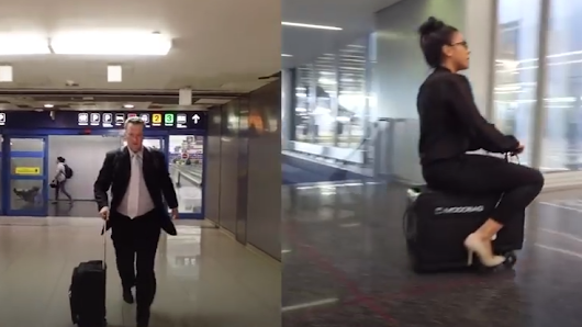 VIDEO: We present Modobag, World's First Motorized, Rideable Luggage! - Tip To Trip