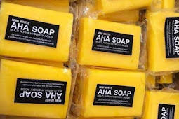 Mimi White AHA Soap Review