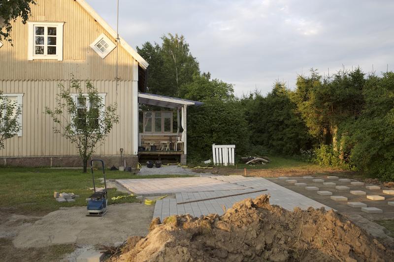 pihasuunnitelma vanhaan taloon kiveys EkoPiha