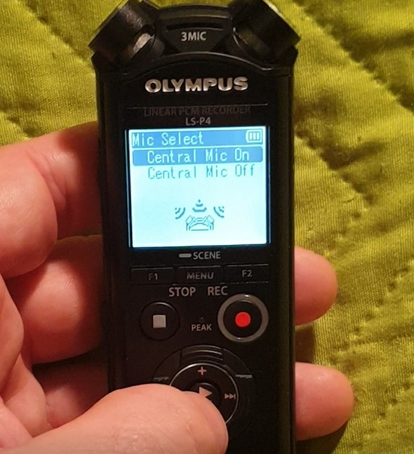Using the Olympus LS-P4 voice recorder in 2020
