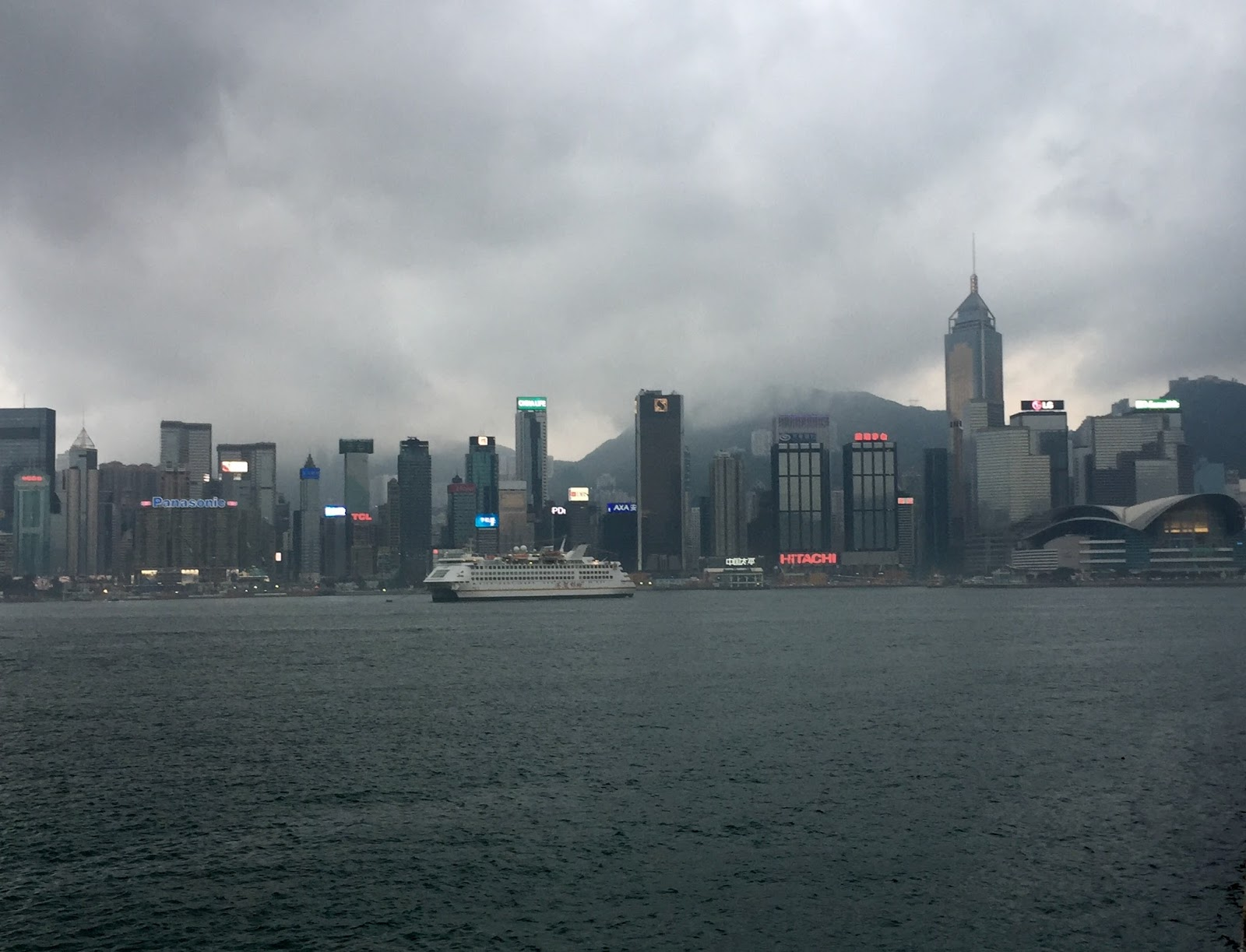 Hong Kong travel diary blog vlog tsim sha tsui waterfront skyline