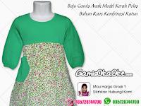Gambar Model Baju Gamis Anak Terbaru OKA OKE