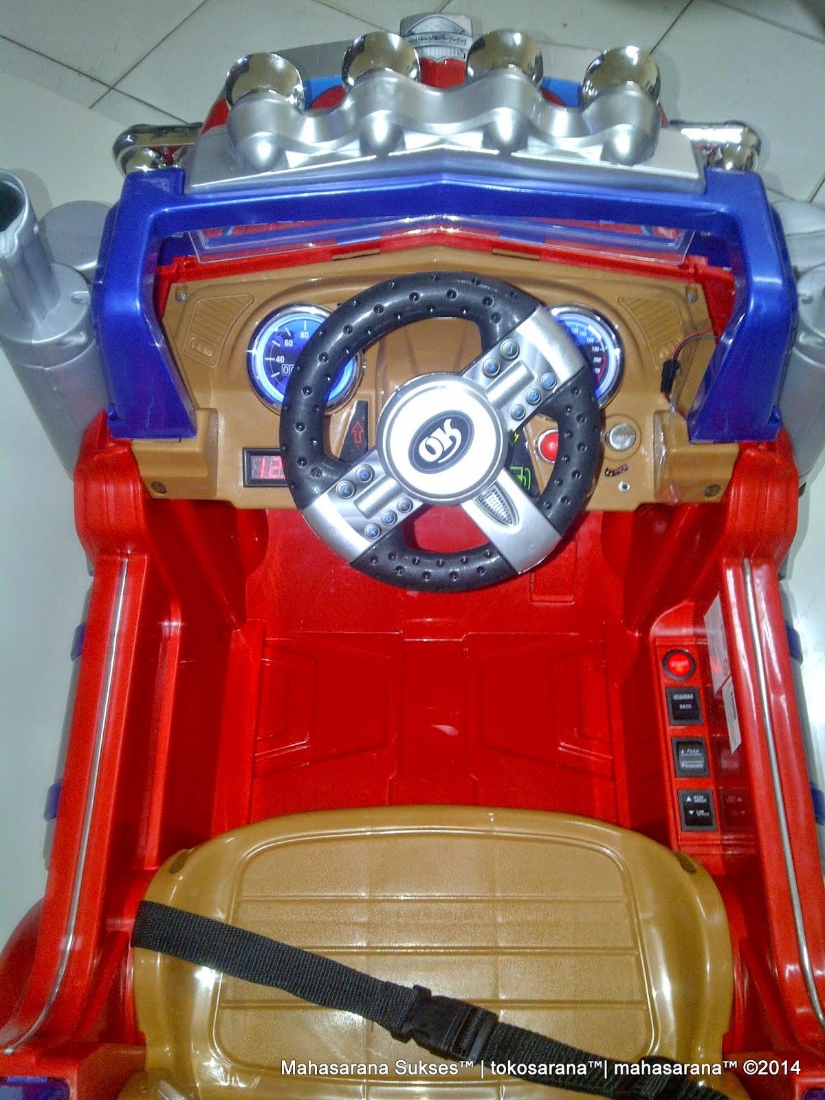 Mobil Mainan Aki DoesToys DT8215 Transformer