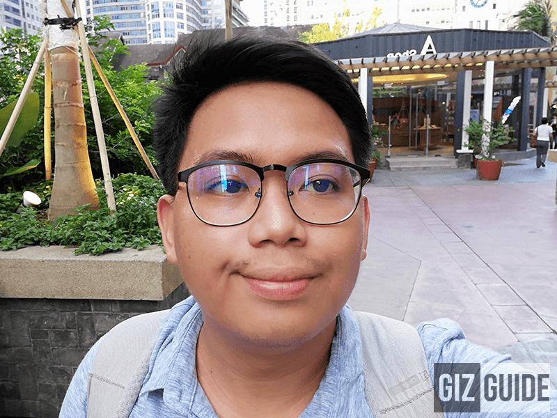 Well-lit selfie 2