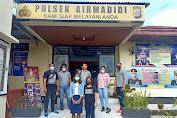 Timsus Polres Minut amakan Dua Remaja  Kasus Penganiayaan Inisial RK dan MM