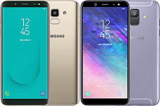 Samsung Galaxy J6 vs A6 (2018)