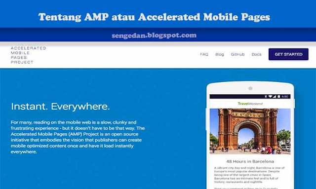 Tentang AMP atau Accelerated Mobile Pages