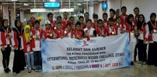 Prestasi Pelajar Indonesia di Olimpiade Matematika International Mathematics Wizard Challenge (IMWiC) img