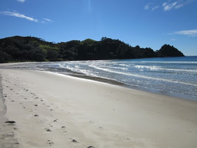 New Chums Beach, Península de Coromandel, Nueva Zelanda