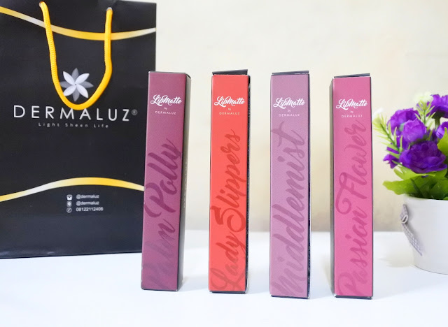 Review & Swatches Dermaluz Lipmatte all shades