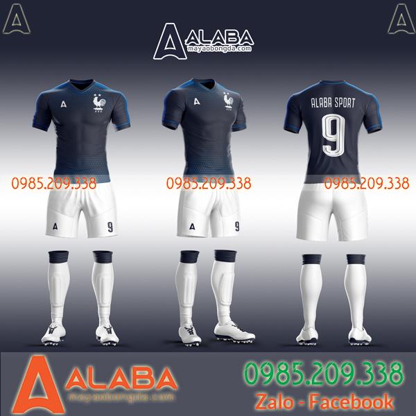 Áo đá bóng Pháp tự thiết kế