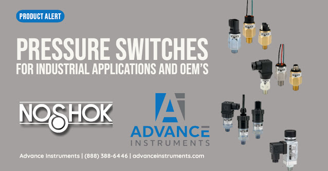 Industrial and OEM Pressure Switches