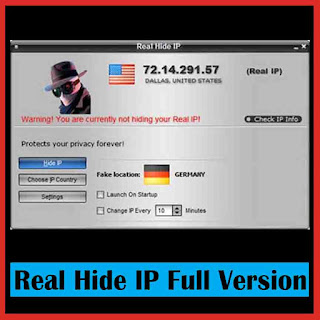 Real Hide IP 4.4.9.8 Full Version with Crack, Patch