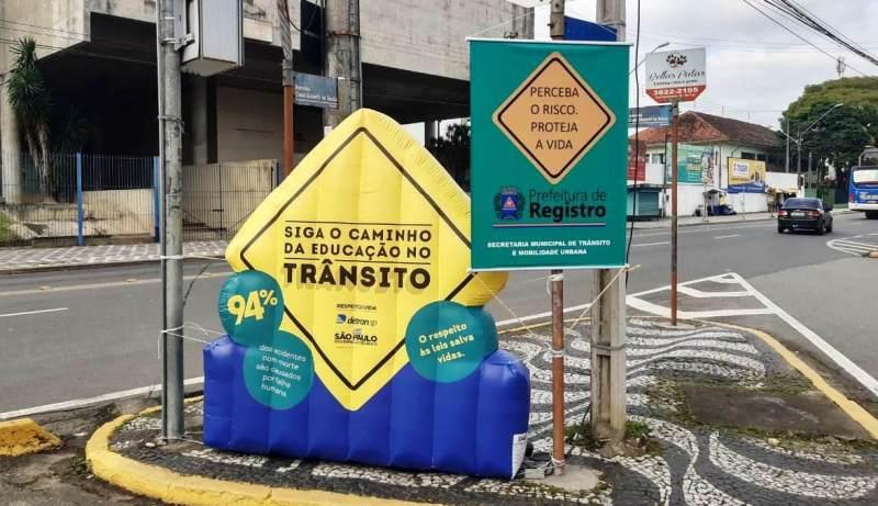 No último dia da Semana Nacional de Trânsito, foco continua na conscientização