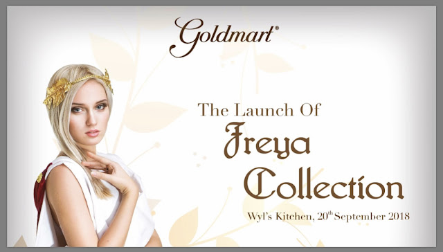 GOLDMART LAUNCH FREYA COLLECTION