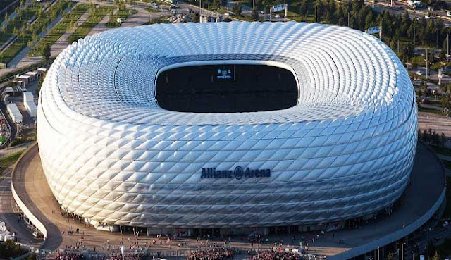 Eropa telah membuatkan sistem sepakbola paling stabil dan kompetitif 10 STADION TERBESAR DI EROPA