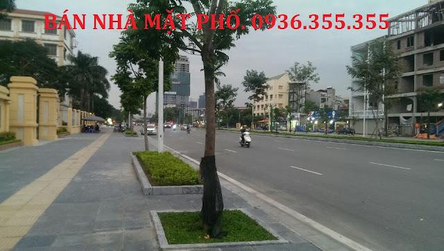 Bán nhà Mặt phố Nguyễn Văn Huyên, Cầu Giấy