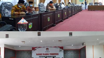 KPU Serahkan Berita Acara Pleno Ke DPRD Kota Sungai Penuh.