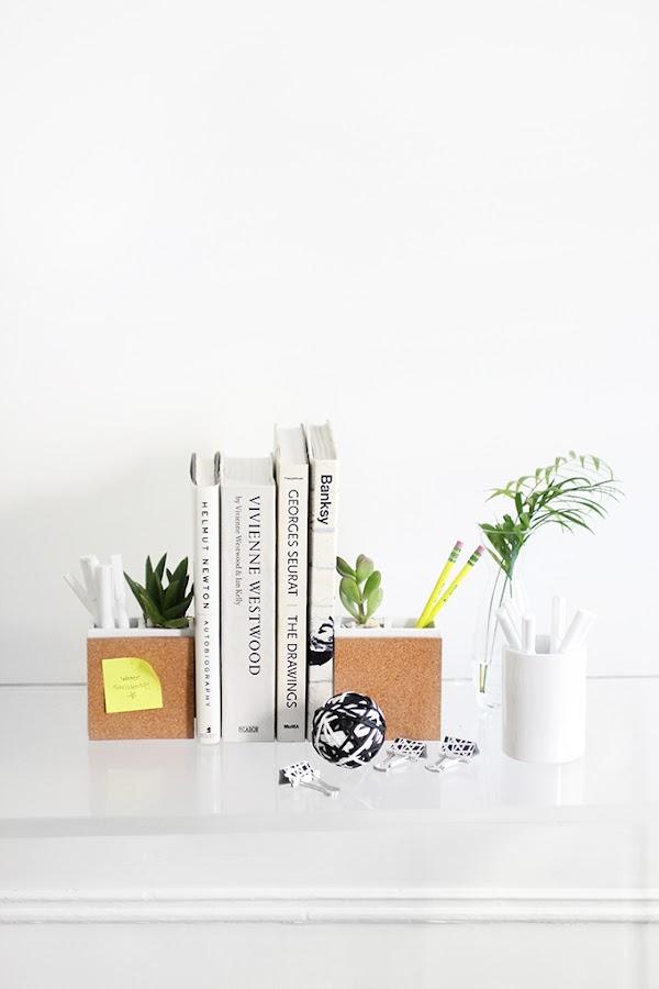 diy-decoracion-oficina-portalapices-sujetalibros