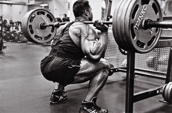 squat intensity