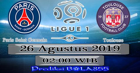 Prediksi Bola855 Paris Saint Germain vs Toulouse 26 Agustus 2019