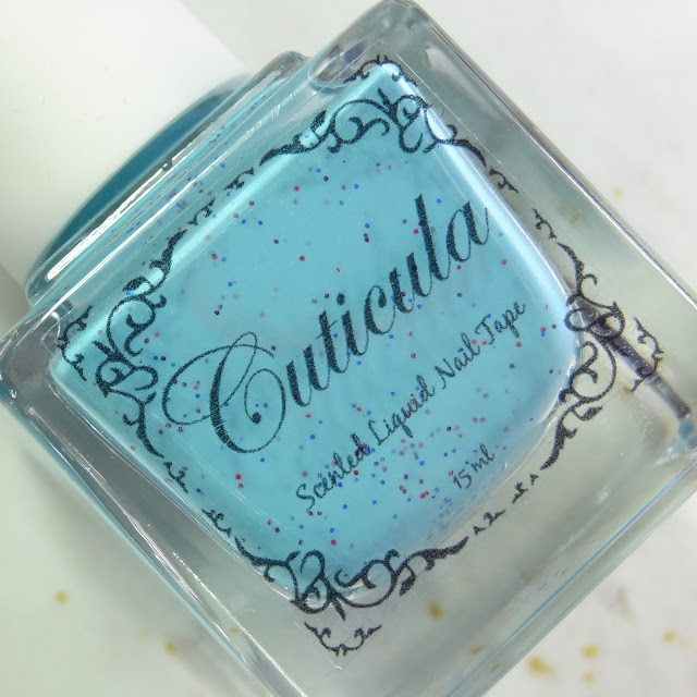 Cuticula Scent Liquid Nail Tape in the scent Rock Candy
