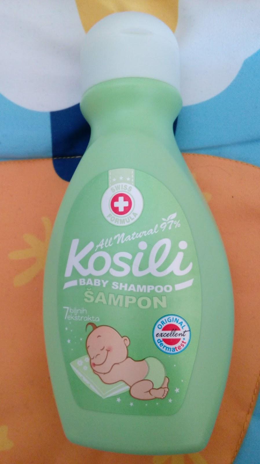 68d4bdf0476 Kosili all natural šampon čisti kosu i olakšava češljanje dajući joj mekoću  i sjaj. Sadrži biljne ekstrakte komorača