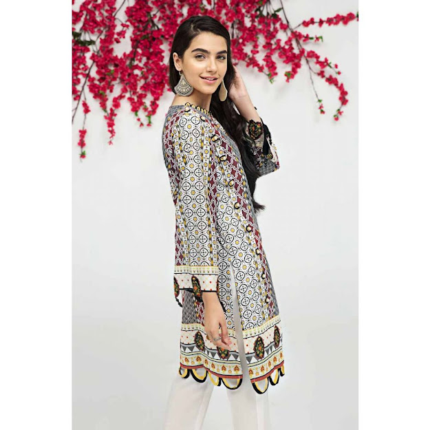 Gul Ahmed gale gul Black color Unstitched stirts collection