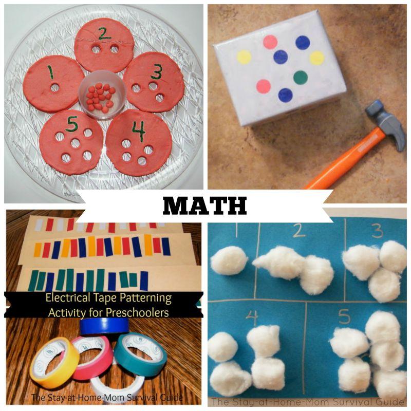 40 activities for preschool