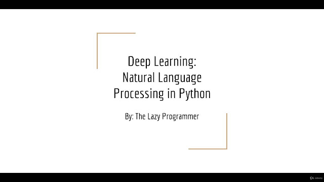 Natural Language Processing with Deep Learning in Python
