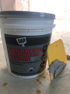 tub of dap concrete repair