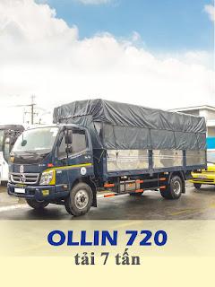 xe tải thaco ollin 720 tải trọng 7 tấn