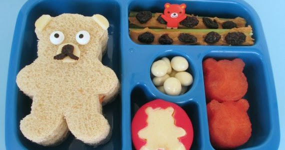 Bento School Lunches Happy National Teddy Bear Day Lunch