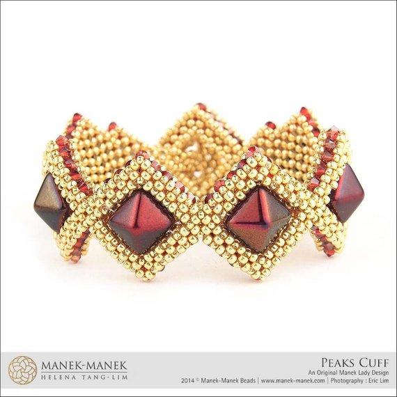 Beautiful Beaded bracelet Tutorial