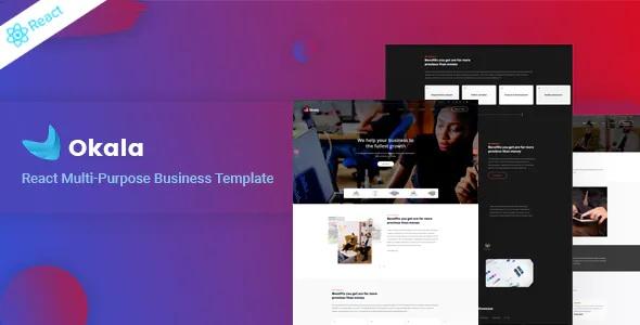 Best React Multipurpose Business Template